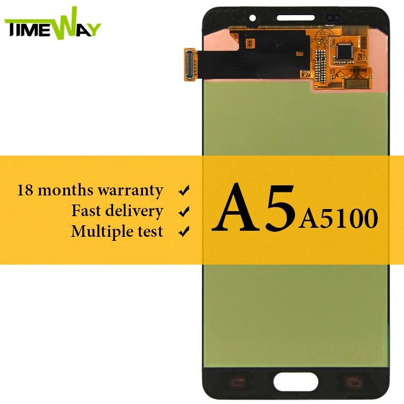 Goede Kwaliteit Display Voor Samsung A5 2016 A510 Lcd scherm Met Touch Digitizer Vergadering Vervanging Voor Samsung A5 2016 A510 LCD-in LCD's voor mobiele telefoons van Mobiele telefoons & telecommunicatie op AliExpress - 11.11_Dubbel 11Vrijgezellendag 1