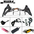 Archery Compound Bow Steel Ball 32inch 21.5lbs-80lbs IBO330/460FPS 70-75% Labor Saving Ratio Hunting Bow Shooting Accessories