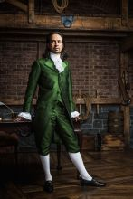 Colonial Hamilton Military cosplay Costume musical green outfit Cosplay Lin Manuel Miranda