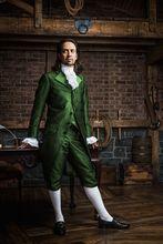 Colonial Hamilton Military cosplay Costume musical Hamilton green outfit Cosplay Costume Lin Manuel Miranda Hamilton cosplay mac demarco hamilton