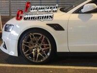 Для углеродного волокна 2009 2014 A4 S4 RS4 B8 B9 переднее крыло боковые Воздухозаборники совки