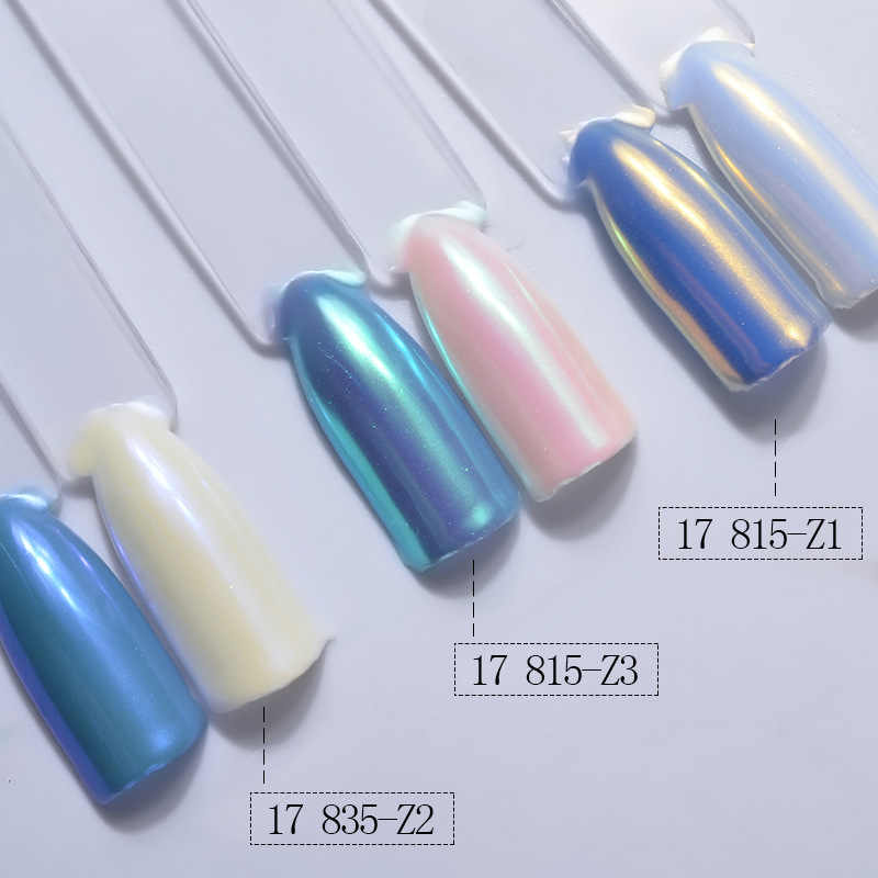 1 BOX DIY Magic Mirror Pearl Nail Art Glitter Powder Dust Polishing for Nails Decorations