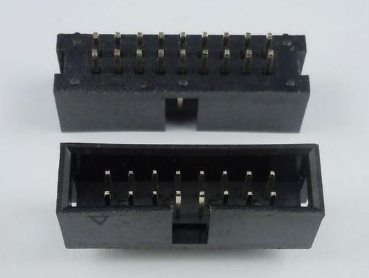 1000 Pcs 1.27mm X1.27 Mm Box Header 2x6 Pin 12 Pin Dual Rows Through Hole Dip Type Straight Male Shrouded Pcb Idc Socket Lights & Lighting Connectors