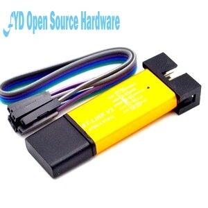 1 шт. ST LINK Stlink ST-Link V2 Mini STM8 STM32 симулятор загрузки Программирование с крышкой