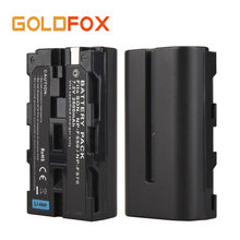High Quality NP-F550 NP-F570  Camera Battery Pack For Sony NP-F550 NP-F570 RechargeableBattery 7.2V 2600mAh