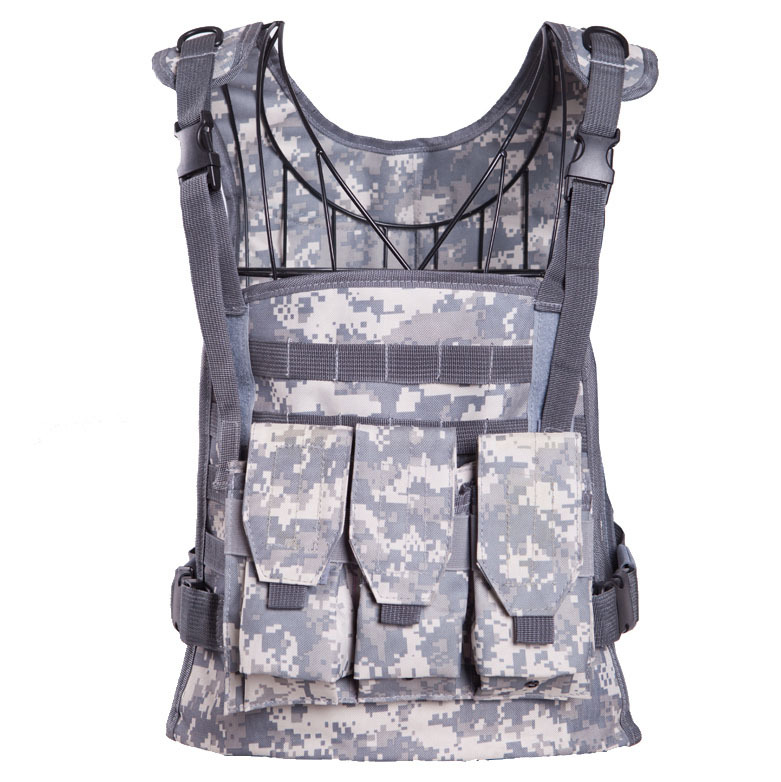 Outdoor Mens Airsoft Tactical Vest Military Amphibious Molle Vests Sports Multicam Modular Combat gilet Military Gear Waistcoat