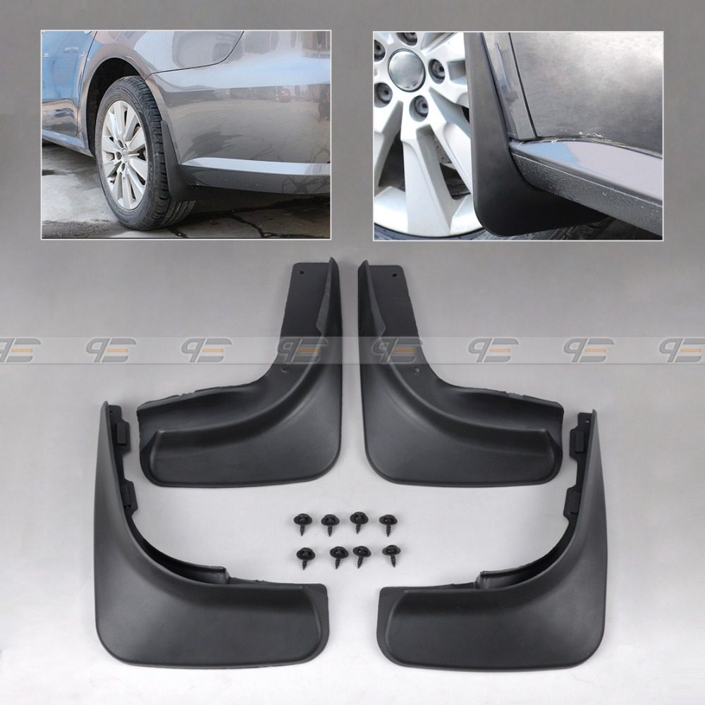 Volkswagen Golf Hatchback Review 2009 2012: DWCX Cool Mud Flap Flaps Splash Guards Mudguard Mudflaps