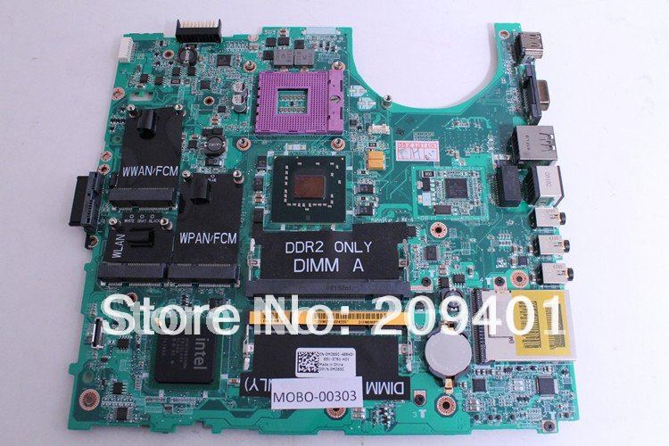For DELL 1535 Laptop Motherboard Studio Series Mainboard CN-0H277K H277K Free shipping Full Tested for dell inspiron series n5110 motherboard mainboard g8rw1 tested free shipping