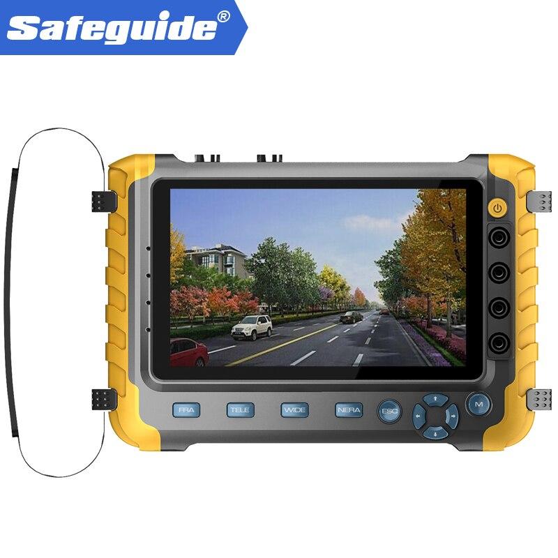 2018 Mis À Jour IV8W 5 pouce CCTV Testeur Moniteur 5MP 4MP TVI AHD CVI CVBS Caméra de Sécurité Testeur Soutien PTZ Audio VGA