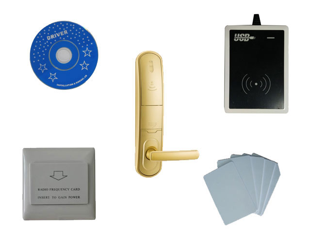 T57 hotel lock system,include T57 hotel lock, usb hotel encoder ,energy saving switch,T57 card, sn:CA 8026 kit