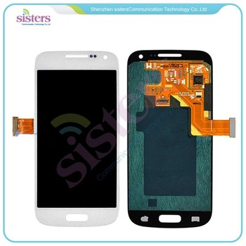 wholesale Grey/White LCD Screen Display with Digitizer Assembly For Samsung Galaxy S4 Mini i9190 i9192 i9195 Free Shipping