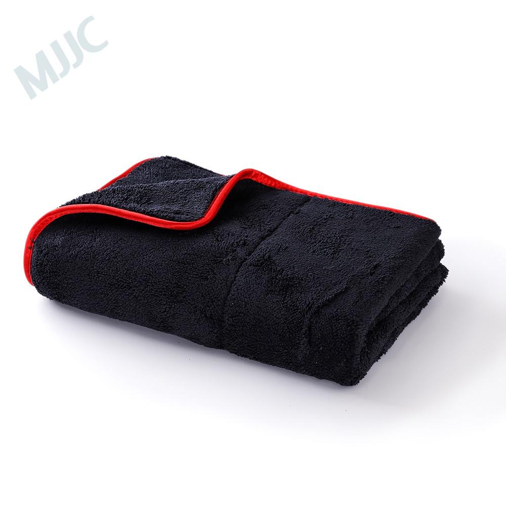 MJJC 60*80 cm Soins De Voiture Cire De Polissage Detailing Serviettes Super Peluche Microfibre De Nettoyage De Voiture Lavage De Voiture en Tissu Séchage serviette