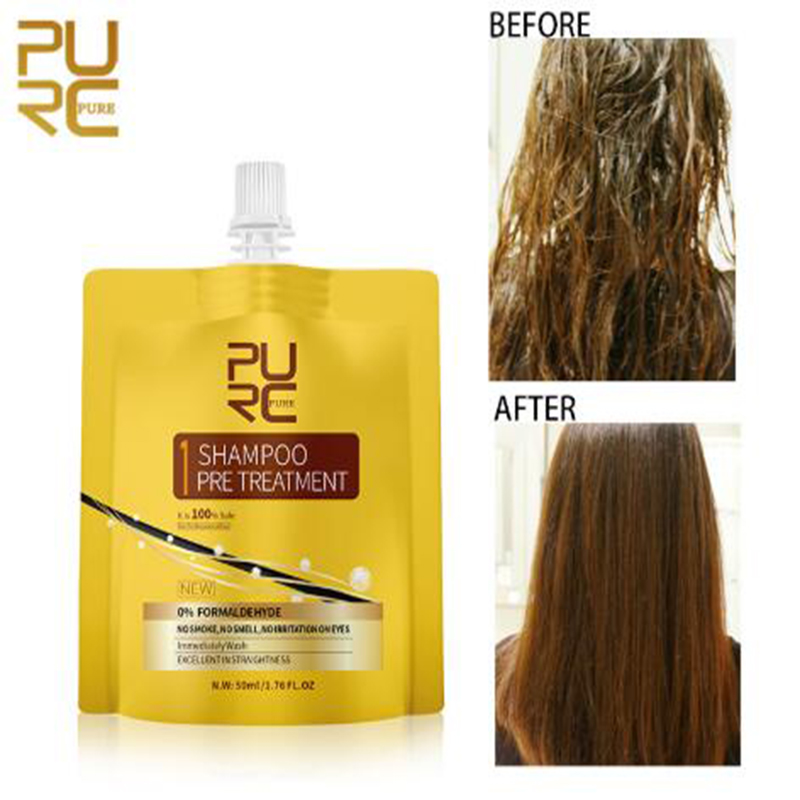 PURC Purifying Shampoo Hair Care Repair and Straightening Damage Hair Deep Cleansing Hair Purifying Shampoo
