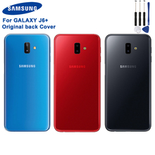 Samsung Original Back Battery Door Rear Housing Cover Plastic Case For Samsung Galaxy J6+ Protective Back Cover Phone Case стоимость