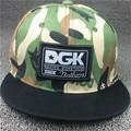 Nova marca DGK Snapback Tampas Planas Hip hop do boné de beisebol casquette gorras chapéu camuflagem Adulto ajustáveis chapéus para mulheres dos homens planas