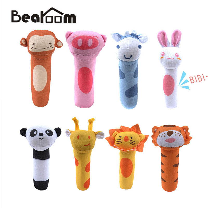 Image 4 - Bearoom Baby Rattles Cute Stroller Toy Musical Mobile Baby Toys Hand Bell Rabbit Music Doll Bed Bell For Infant Stroller-in Baby Rattles & Mobiles from Toys & Hobbies