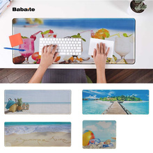 Babaite  summer beach Office Mice Gamer Soft Mouse Pad Speed/Control Version Large Gaming Mouse Pad evans rf6gm 6 mountable speed pad