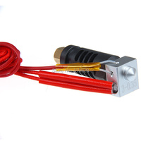 3D Printer Assembled J Head Hot End 0 35mm Nozzle For 3mm Filament ABS PLA Reprap