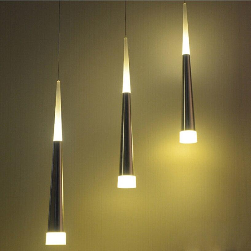 1pcs Modern led Conical pendant light Aluminum&metal home hang lamp dining/living room bar cafe droplight fixture стоимость