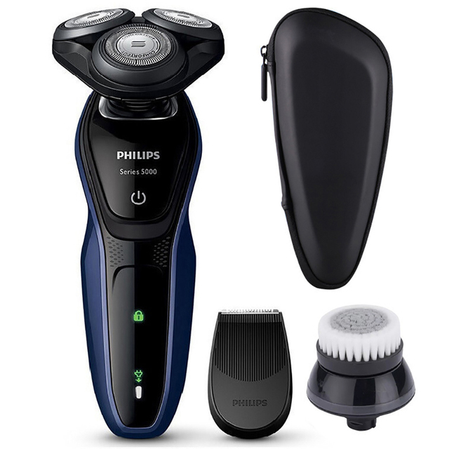 Philips Electric Shaver S5081 5D Dloating Rechargeable Electric Shaving with IPX 7 Level Waterproof Grinding Machine for Men