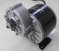 Mejor Motor de engranaje de 350w 24 v, cepillo de motor de triciclo eléctrico, motor de engranaje de CC cepillado, motor de bicicleta eléctrica, MY1016Z3