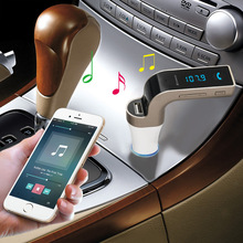 Car Bluetooth FM Transmitter With TF/USB flash drives MP3 WMA Music Player SD and USB Car Charger+Bluetooth Car Kit