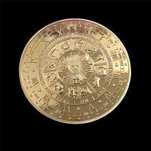 Таро гадание художественные подарки для коллекции сплав сувенир позолоченный Монета Металл античный имитация
