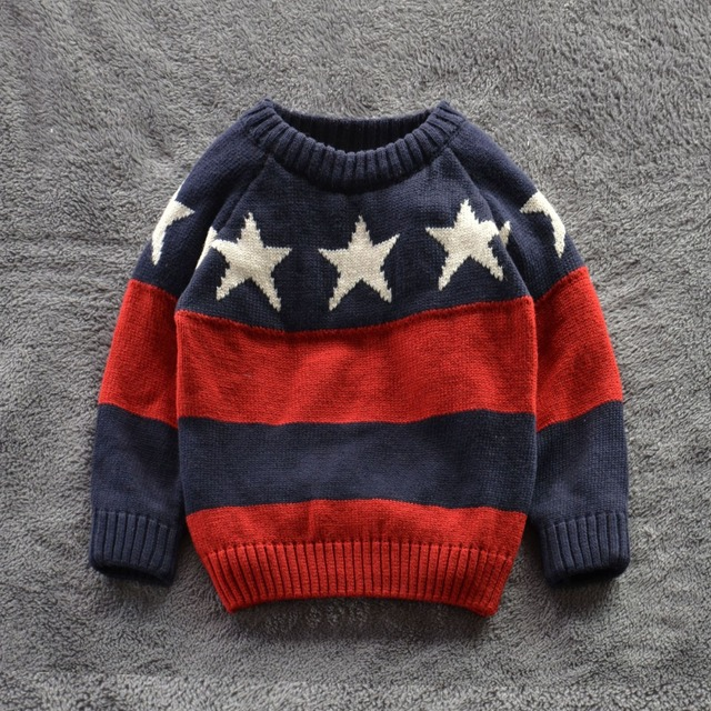 281a8dbaa Children Sweaters Shirts baby boys girls 100%Cotton warm sweater 2015 New  Autumn winter Pullover