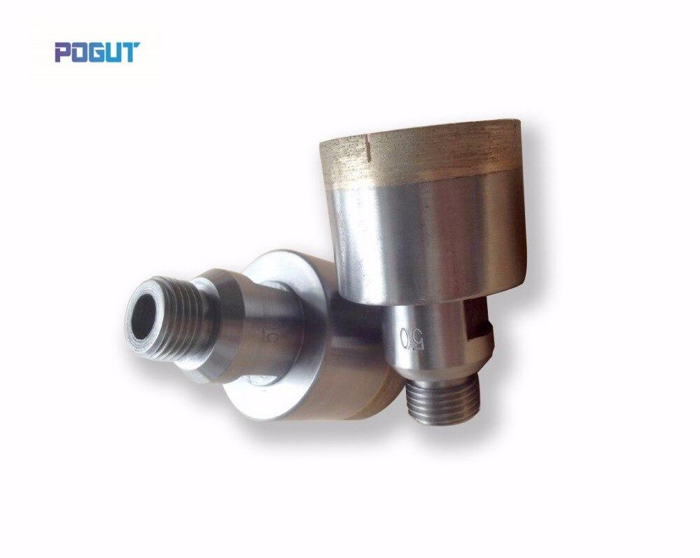 цена на Diamond glass drill bit 150mm, Length 75mm, High Quality Glass glass tools,  drill bit with G1/2 screw