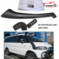 CITYCARAUTO 4*4 AIR INTAKE SNORKEL KIT SET LLDPE SNORKEL FIT FOR MITUBISHI DELICA L400 DIESEL PETROL 1994 2006 CAR