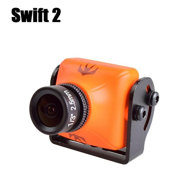 高品質 RunCam スウィフト 2 FPV 600TVL カメラ 2.3 ミリメートル/2.1 ミリメートルレンズ osd IR ブロック pal RC Quadcopter Multicopter