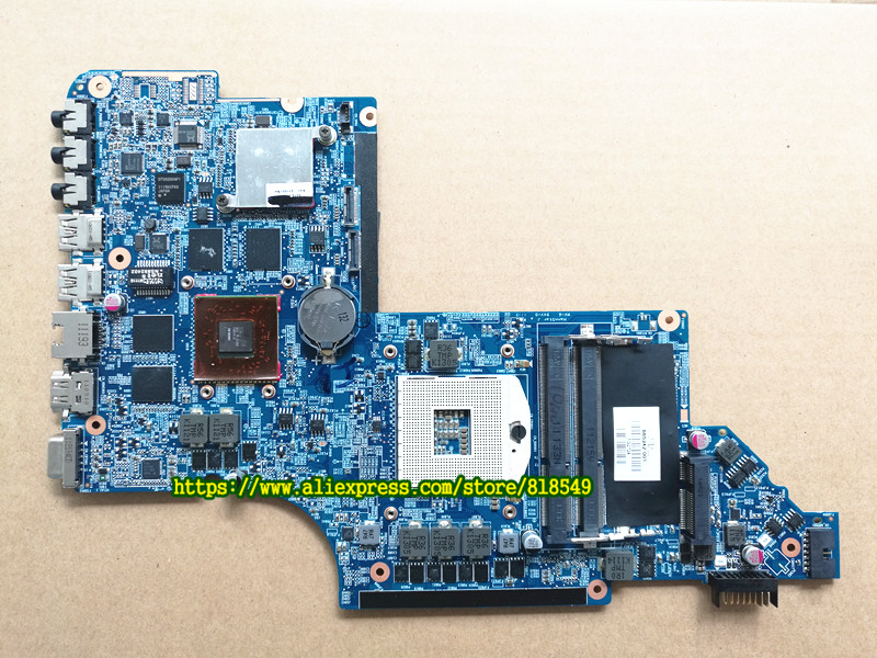 650800-001 laptop motherboard fit for HP pavilion dv6 dv6t dv6-6000 series laptop system board ,100% tested good!