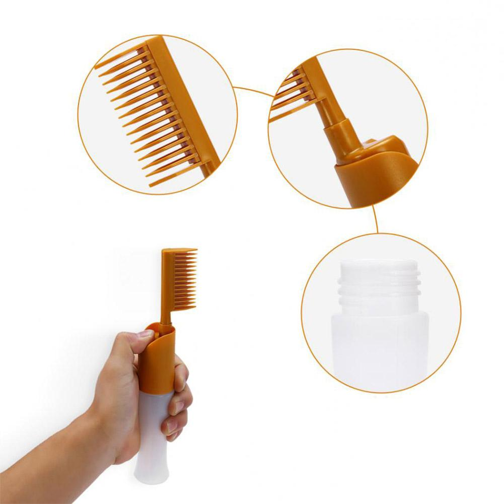 Hair Dye Applicator Brush Salon Empty Bottle Hair Dye Dispenser Comb Coloring Dyeing Comb Hairdressing Styling Tool Water Pump