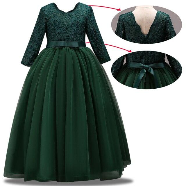 새로운 어린이 결혼식 신부 들러리 파티 드레스 소녀의 생일 파티 성능 공 아름다움 파티 드레스 vestidos de fiesta