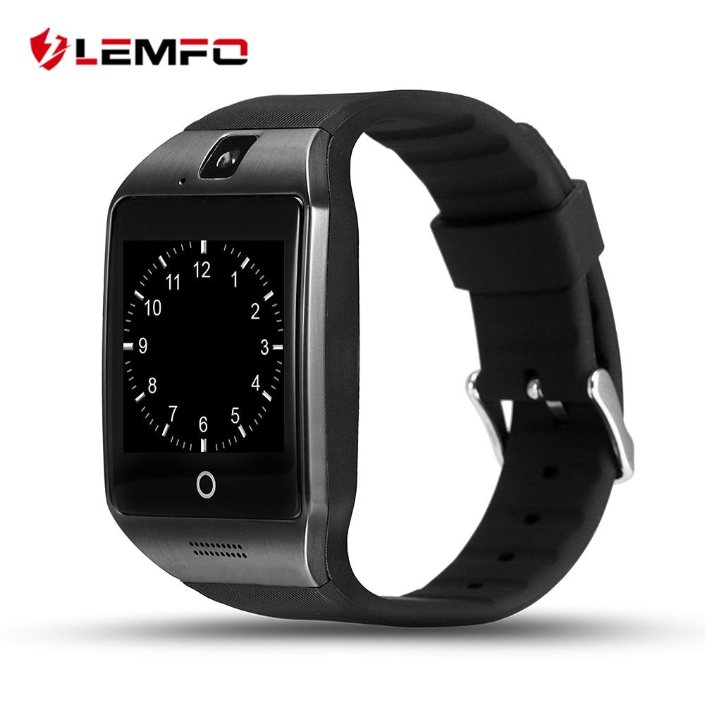 LEMFO Q18s Smart Watch Support SIM Card Bluetooth NFC GSM Video Camera Smartwatc