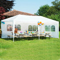 10'x10'/20'/30' Outdoor Marquee Tent Folding Up Canopy Party Patio Wedding Tent Heavy Duty Gazebo Pavilion Cater Events