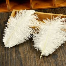High Quality Natural Ostrich Feathers for Photography Props White Pink Gray Feather DIY Photos Background Decorations ostrich feather 10 25cm white pink feathers for bracelet ring jewelry lipstick cosmetic ins photography background accessories