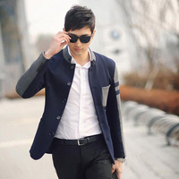 2015 New Spring Men Blazers Casual Suit Men S Jacket Slim Fit Suit Single Breasted Outerwear