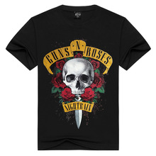 Cotton T Shirt Women New GUNS N ROSE NIGHTRIAN T Shirts Men Mans Tshir
