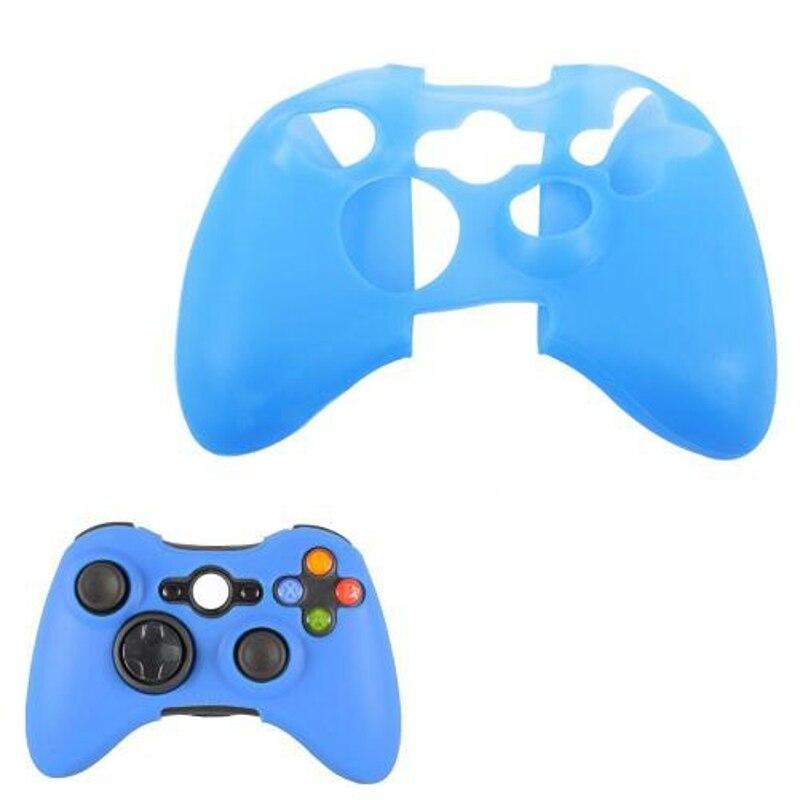 2018 De Gel De Silicona Suave Protectora Gamepad Joypad Funda Para Microsoft Xbox 360 Xbox360 Controlador Protector Del Cuerpo De La Cáscara De La Piel