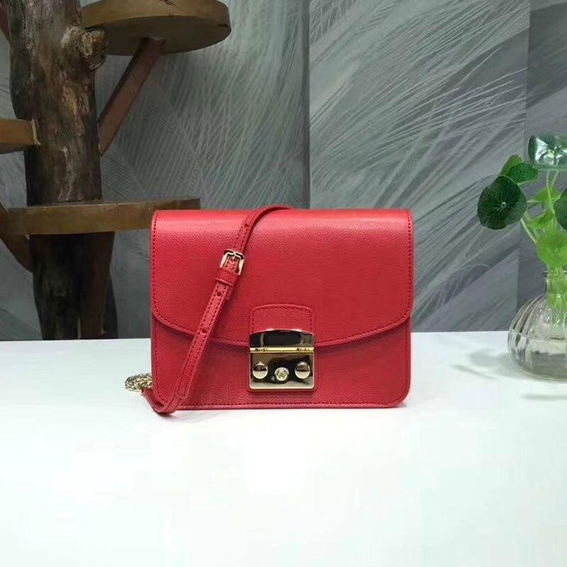 abc55986b28a Luxury genuine Leather Handbags Women Messenger Bags Woman Chain Bags  Famous brand Fashion designer Totes evening