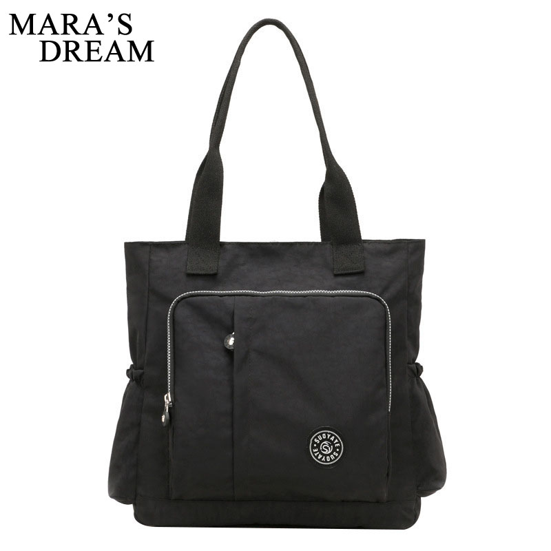 Mara's Dream Women Travel Bag Fashion Printing Large Capacity Zipper Nylon Women Bag Trend Casual Women Storage Bag