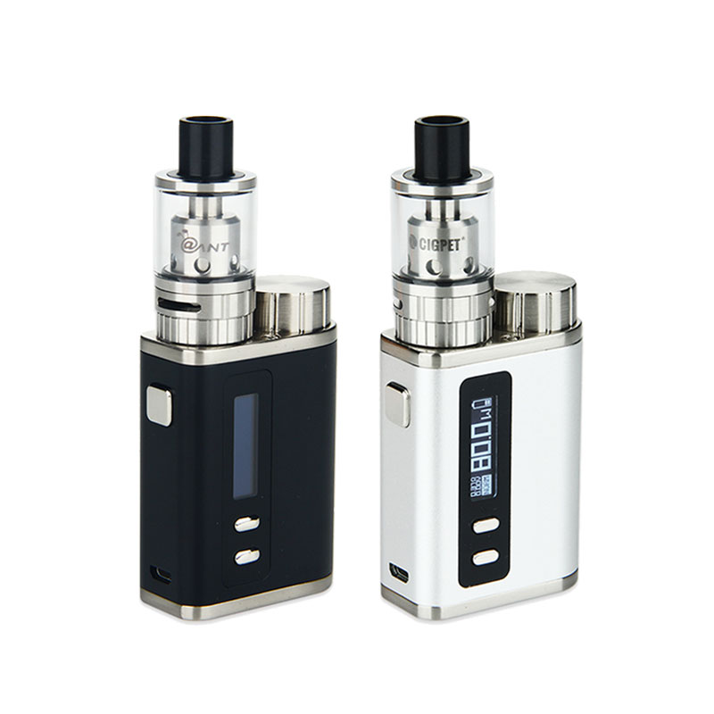 Heavengifts 80W Cigpet Ant TC E cig Kit with box mod 80W VW VT Ant Atomizer