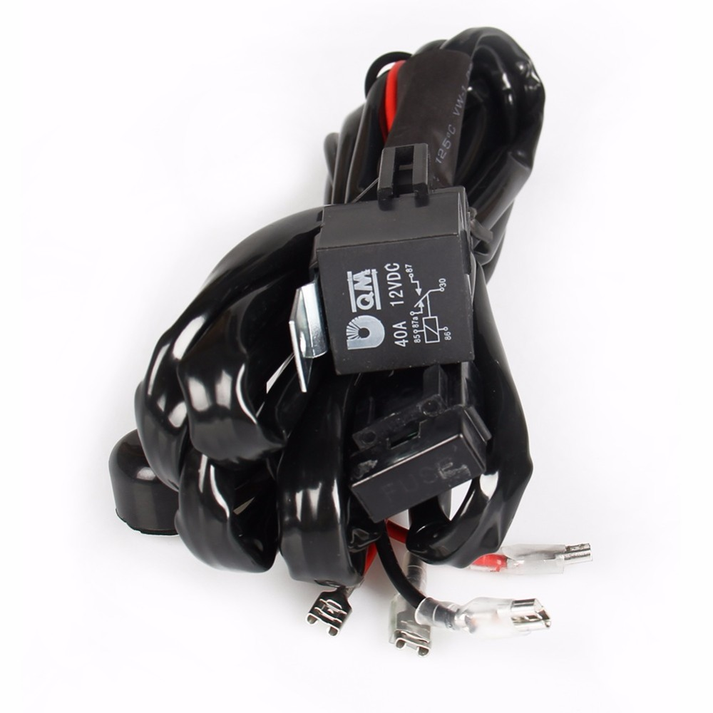 Carbole 40a 12v Power Switch Relay Fuse Wiring Harness Kit For Led Off Road Kits Light Bar Offroad In Atv Parts Accessories From Automobiles Motorcycles On