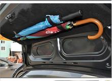 Black Blue Color Vehicle Hangers 2pcs Car Umbrella Fixed Hook Trunk Multifunctional Storage Clip Fastener Interior