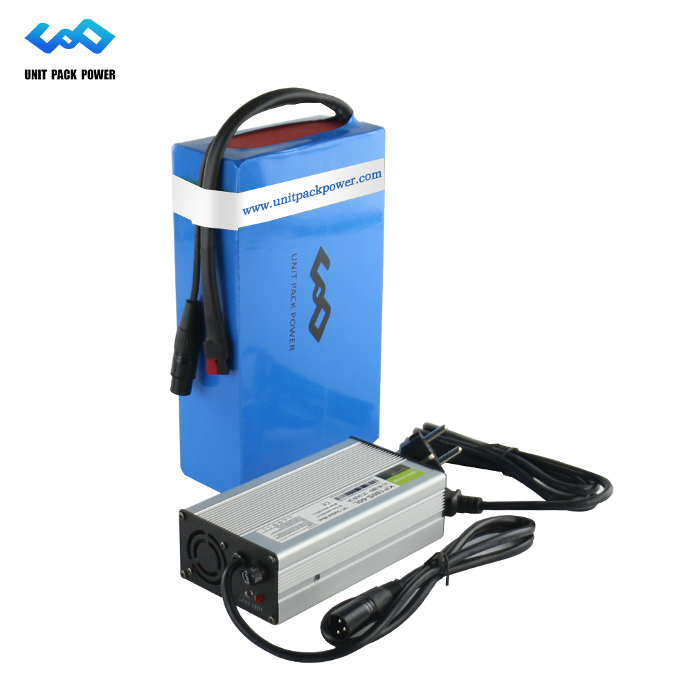 Personnalisé 48 V Au Lithium Batterie Pack 48 V 12Ah eBike Batterie plus Chargeur 30A BMS pour 1000 W Bafang Moteur