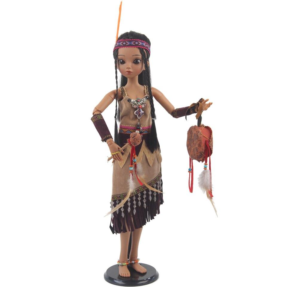 Oyuncaklar ve Hobi Ürünleri'ten Bebekler'de Prenses Anna bjd bebek sd 60 cm 1/3 bebek tan kız oyuncak çocuklar İçin koleksiyonu'da  Grup 1