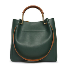 Fashion Female Shoulder Bag Pu Leather Women Handbag Simple Style Messenger