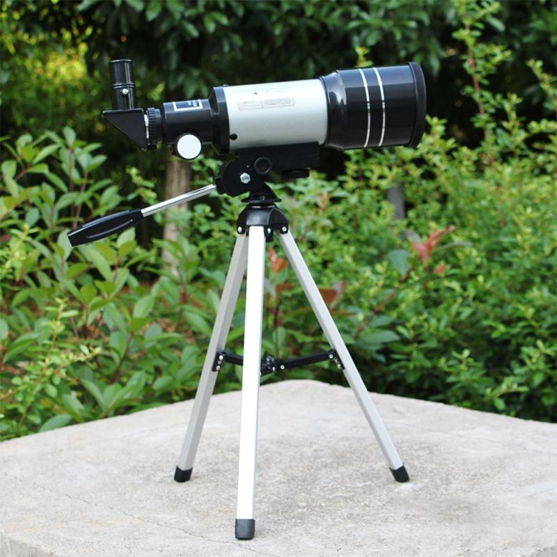 DSstyles 150X HD Protable Astronomical Telescope Tripod Powerful Terrestrial Space Monocular Telescope Moon Watching f40040m entry level zoom terrestrial astronomical telescope compact tripod outdoor monocular telescope children gift kids toy