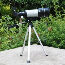 Big discount DSstyles 150X HD Protable Astronomical Telescope Tripod Powerful Terrestrial Space Monocular Telescope Moon Watching